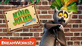 Monsters Under Your Bed? | KING JULIEN STAND UP