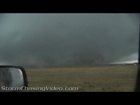Storm Chasers Hit By Quinter, KS Wedge Tornado - Storm Chasing Video Blog - Vol 2