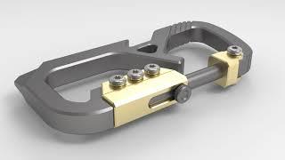 Valtcan Titanium Bolt Carabiner First Look
