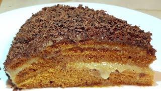 """Торт """"медовик"""" постный, цыганка готовит. Gipsy cuisine."""