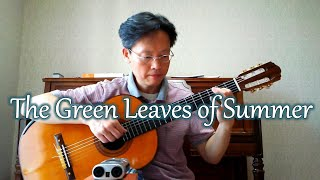 The Green Leaves of Summer / The Brothers Four – Guitar cover