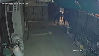 #Delhi #गुजरावाला टाउन में Gun point पर हुई लूटपाट | CCTV में कैद पूरी वारदात