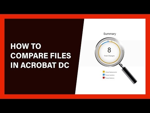 How To Compare Files In Adobe Acrobat DC