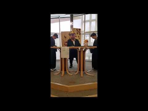 Megilla Reading in Gottesman RTW Academy, Randolph, NJ, March 9, 2020