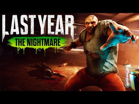 LAST YEAR THE NIGHTMARE GAMEPLAY ESPAÑOL - LA MALA SUERTE!