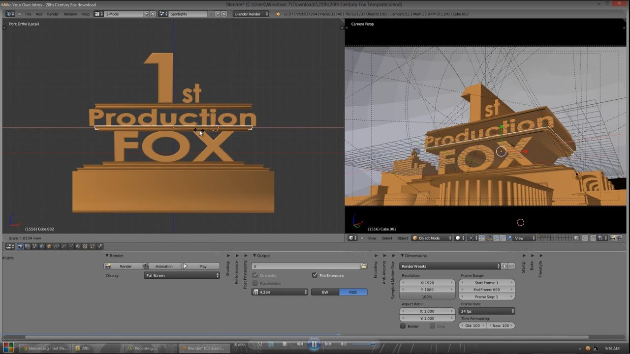 how to make your own intros 20th century fox download youtube