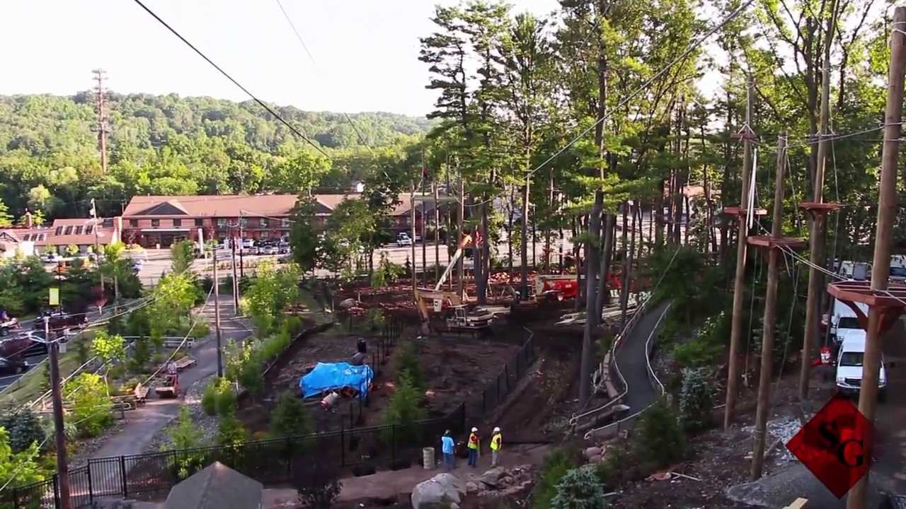 The Shauger Group - Treetop Adventure Course - YouTube
