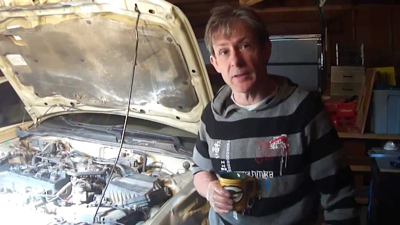 Harmonic Balancer Replacement 2001 Nissan Sentra 1.8 - YouTube