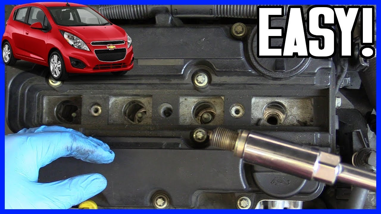 How To Replace Spark Plugs Chevrolet Sonic 1 4l Gasoline 2009 2015