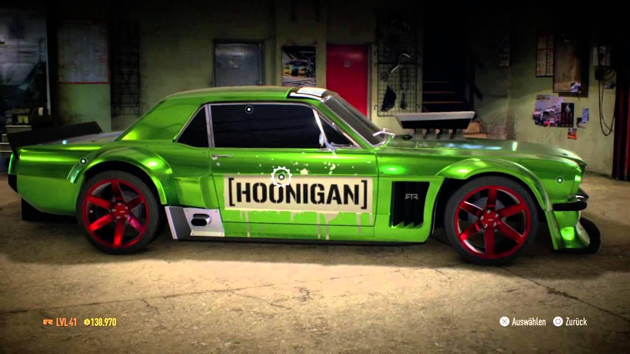 Nfs Hoonigan Mustang Youtube
