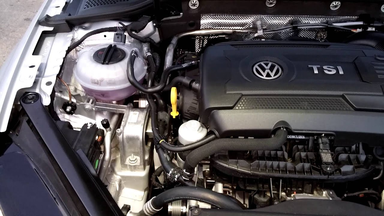 2015 VW GTI Perf Package Manual - Oil Filter Magnet Mod - YouTube