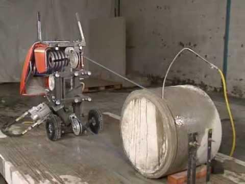 Канатная машина CS 2512: распиливание колонны