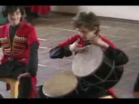TRADITIONAL GEORGIAN DANCE AND SONG