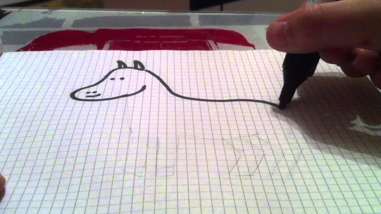 apprendre dessiner un cheval youtube. Black Bedroom Furniture Sets. Home Design Ideas