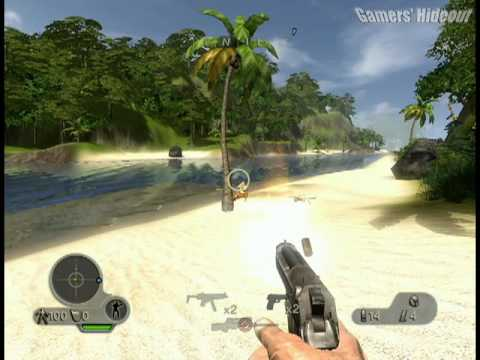 Far Cry Instincts Predator X360 Gameplay Evolution Mode Pirate Enclave Youtube