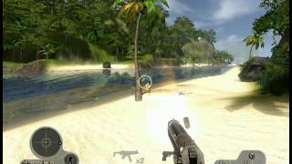 Far Cry Instincts: Predator (X360) Gameplay - Evolution Mode - Pirate Enclave
