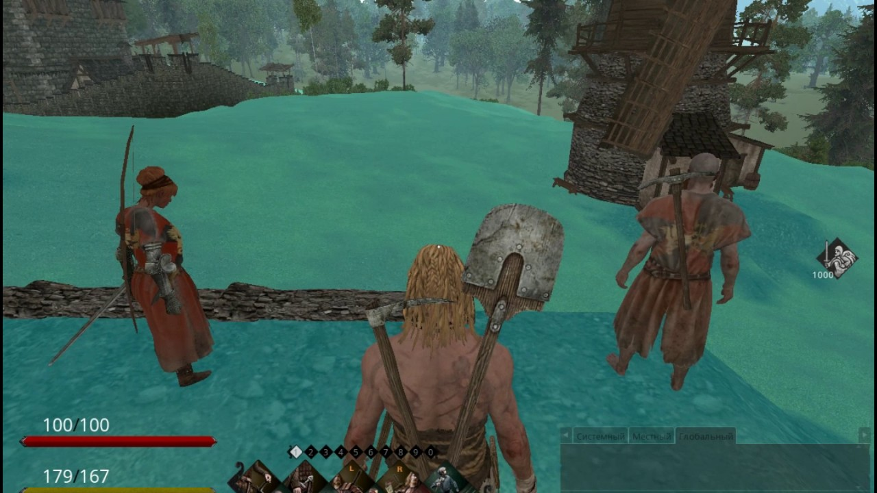 Life is feudal мельница тактическая ролевая компьютерная онлайн игра