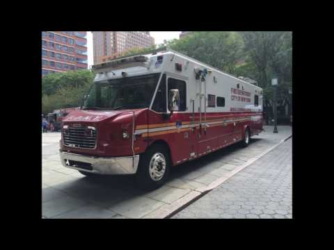 NEW SERIES - SHOWCASING DETAILED PHOTOGRAPHS OF THE MOBILE COMMAND CENTER 1 FDNY HEADQUARTERS.