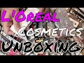 UNBOXING: L'Oréal New Overstock Cosmetic Lots