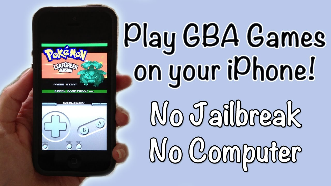 play gba games on iphone how to play gameboy advance on your iphone no 6546