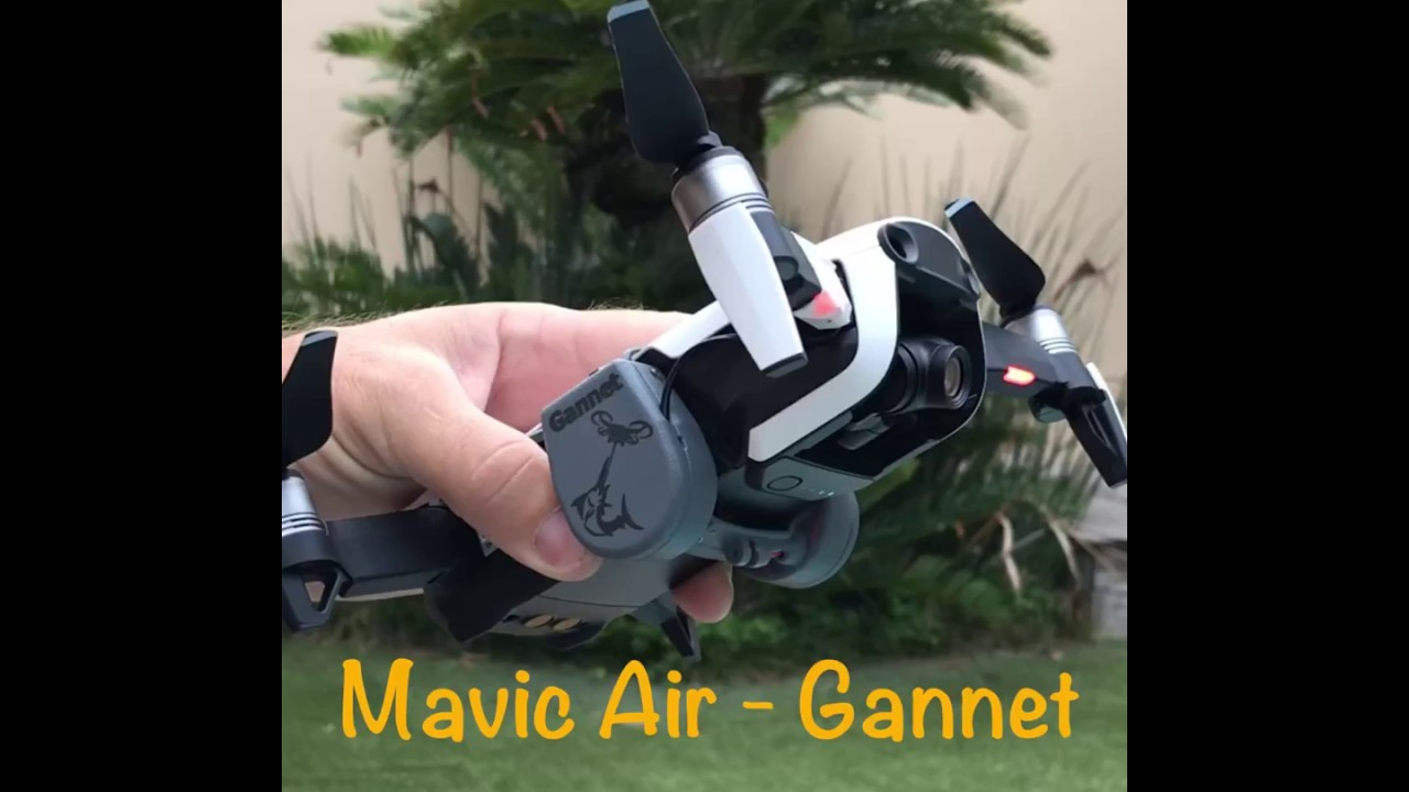 Drone Fishing - Mavic Air Gannet Payload Release