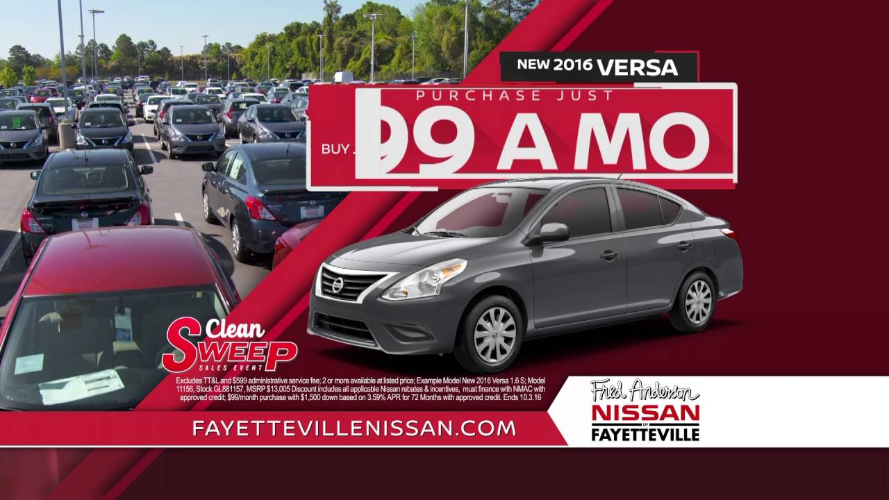 Superb Fred Anderson Nissan Of Fayetteville   Clean Sweep
