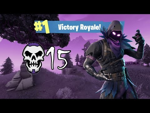 15 Kill Solo Win !! - Fortnite Fortnite Battle Royale Raven Gameplay