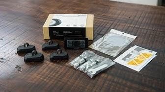 Đánh giá nhanh cảm biến áp suất lốp gắn trong CareUD T812 S