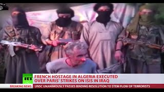 French Hostage Executed By Isis Linked Algerian Jihadists