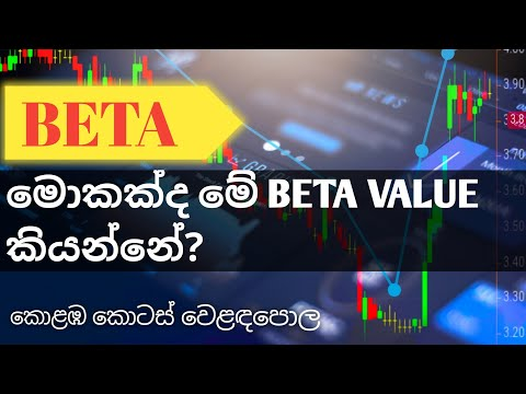 Beta Value of Share Sinhala