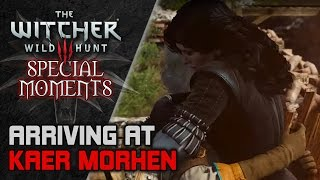 WITCHER 3 ► Geralt and Ciri arrive at Kaer Morhen