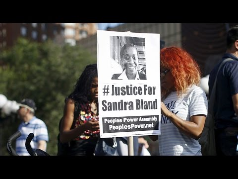 Protests mark 1-year anniversary of Sandra Bland's death in police custody
