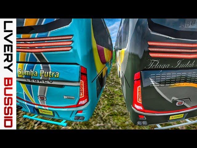 Livery bussid Telaga Indah Armada + Sumba Putra by BlahBloh #1