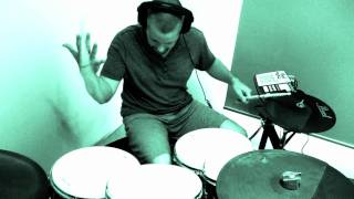 BENNY BENASSI - CINEMA (SKRILLEX REMIX) DRUM COVER (HD)