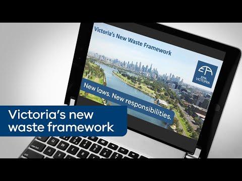 Victoria's new waste framework webinar
