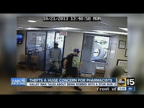 Valley pharmacist talks moments before robbery