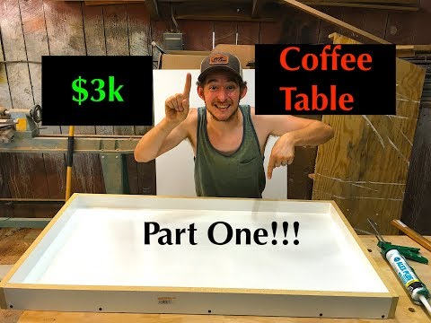 DIY: How To Make a Resin and Wood Slab Coffee Table Using StoneCoat Countertops Epoxy Resin   Part 1