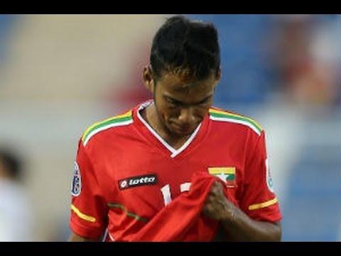 Myanmar vs Korea Republic: AFC U22 Championship 2014