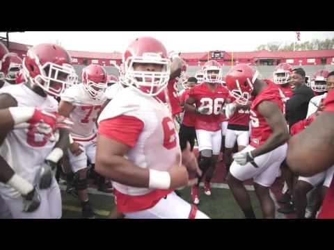 "Rutgers Football ""The Running Man Challenge"""