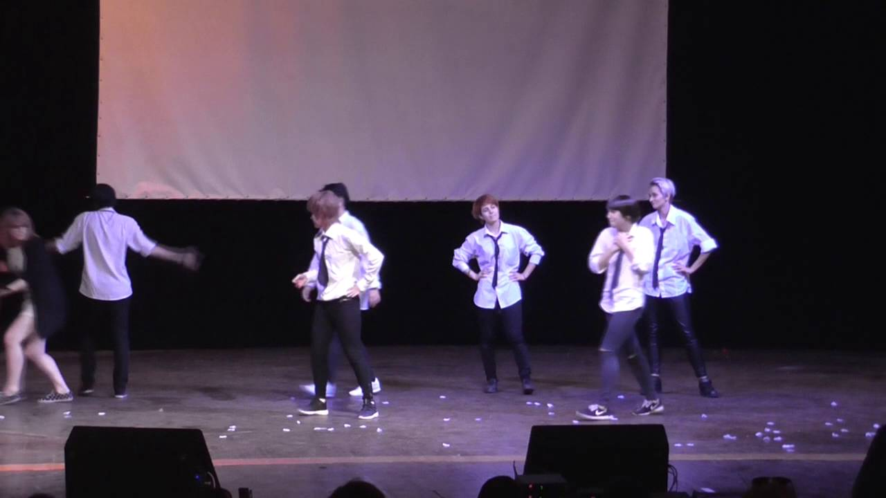 Mikan No Yuki 2016 - Косплей – постановка №67 – BTS – Голубой огонёк
