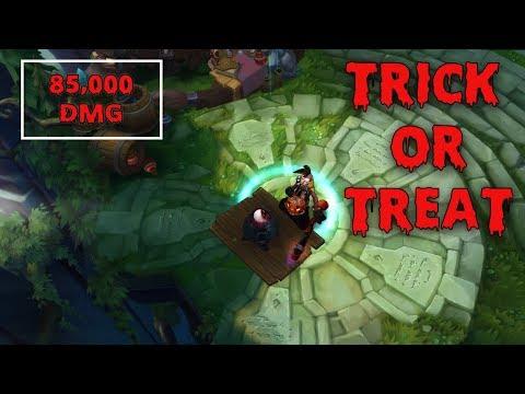 *85,000 DMG* HALLOWEEN EKKO SKIN IS PAY TO WIN | TRICK OR TREAT EKKO ONE-SHOTS | League of Legends