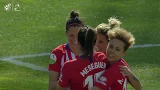LIGA IBERDROLA   Revive el triunfo del Atlético de Madrid Femenino ante el Fundación Albacete (6-1)