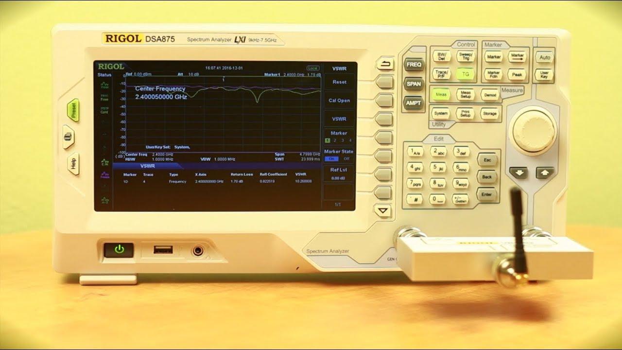 Rf Antenna Testing Youtube Vhf Center Frequency Fm Transmitter