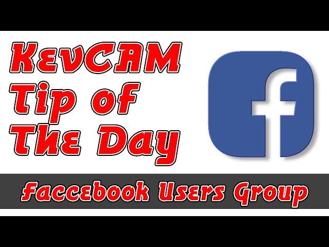 Tip of the Day - Facebook Users Group
