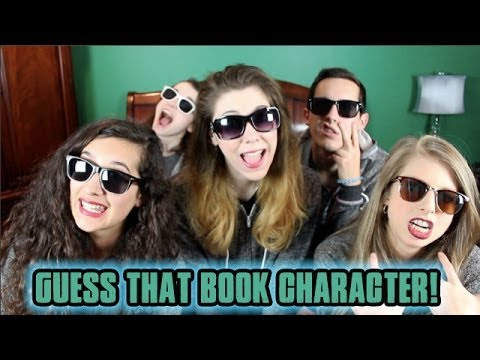 GUESS THAT BOOK CHARACTER!