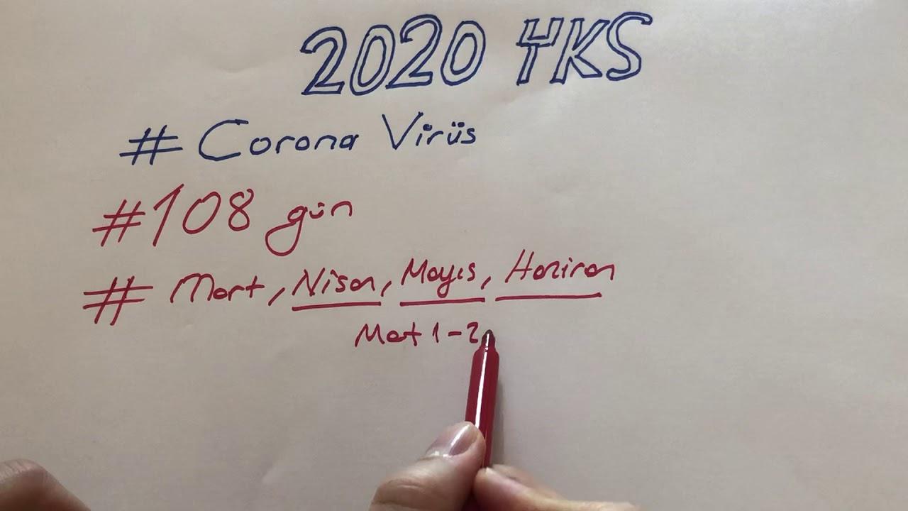 CORONA VİRÜS #2020 YKS'Yİ ERTELER Mİ?