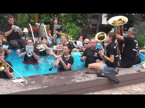 Cold Water Challenge 2014 Musikverein Lyra Bittelbronn