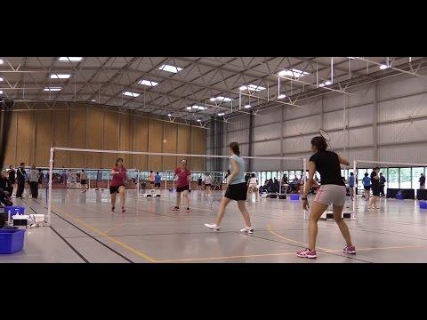 Fontainebleau - 1er tournoi de badminton  2015