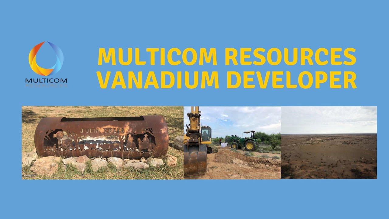 Vanadium Developer   Multicom Resources