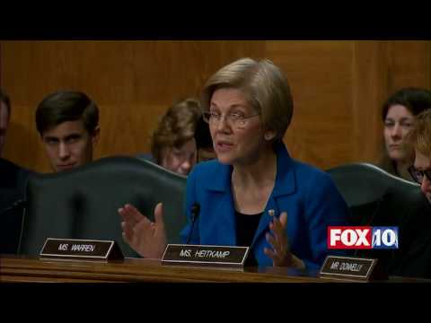 Sen. Elizabeth Warren TAKES ON Ben Carson at Confirmation Hearing for HUD Secretary